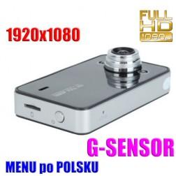 Kamera Rejestrator Samochodowy HD
